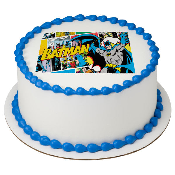 Enjoyable Batman Pop Edible Cake Topper Image A Birthday Place Personalised Birthday Cards Paralily Jamesorg