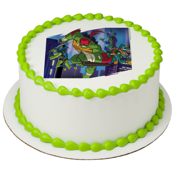 Teenage Mutant Ninja Turtles™ Mutant Mayhem Edible Cake Topper Image