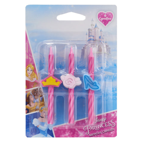 A Birthday Place - Cake Toppers - Disney Princess Icon Candles