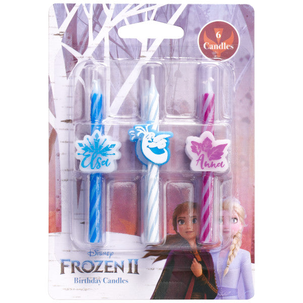 Disney Frozen II Icon Character Candles