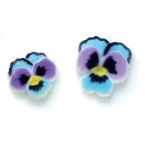 Pansies Assortment Dec-Ons® Decorations