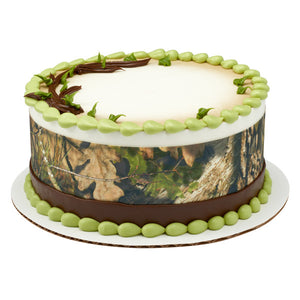 Mossy Oak Break Up Country Edible Cake Topper Image Strips