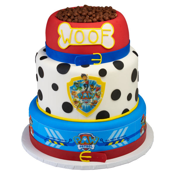 PAW Patrol™ All Paws on Deck Edible Cake Topper Image Strips