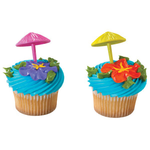 A Birthday Place - Cake Toppers - 3D Umbrella DecoPics®