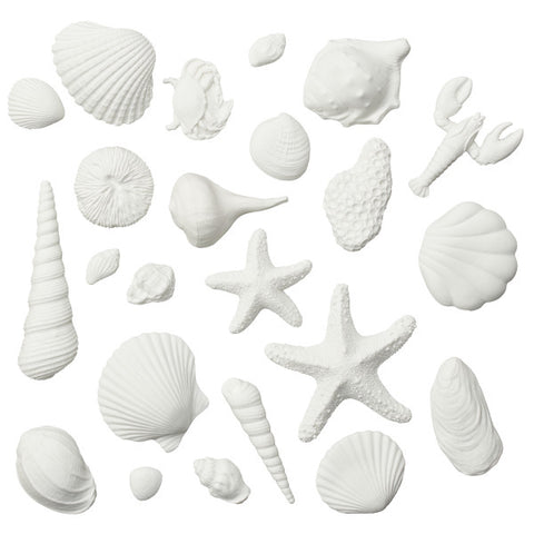 Seashell Assortment Gum Paste Layon
