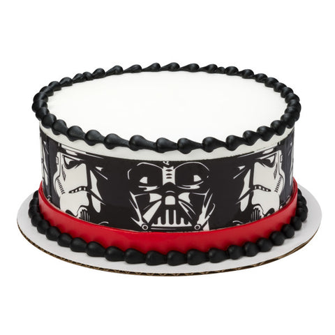 "A Birthday Place - Cake Toppers - Star Wars""¢ Darth Vader & Stormtroopers Edible Cake Topper Image"