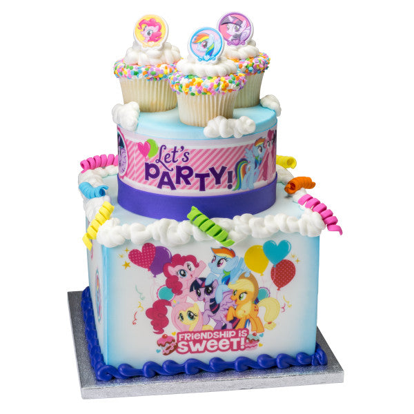 My Little Pony Friendship Edible Cake Topper Image A Birthday Place