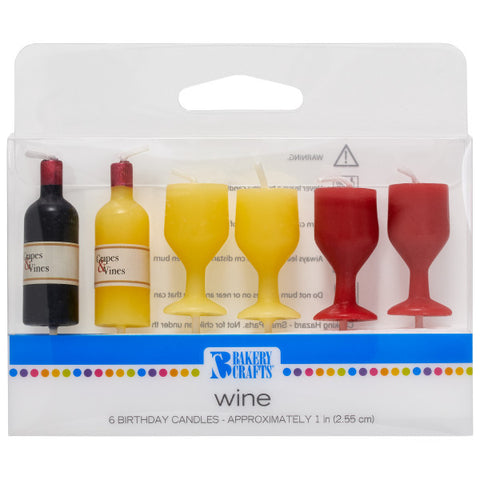 Wine Shaped Candles