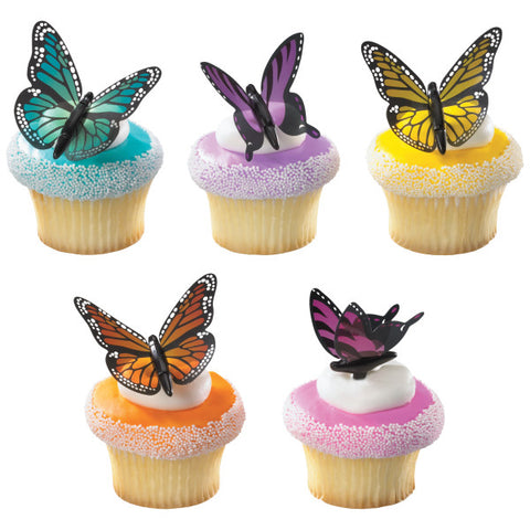 A Birthday Place - Cake Toppers - Butterfly Beauty DecoPics®