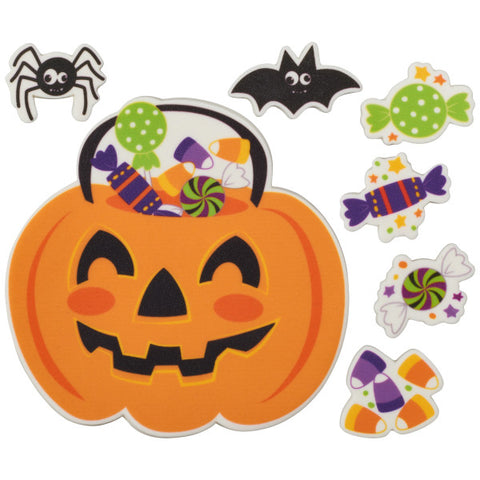 Halloween Sweets Sweet Décor™ Printed Edible Decorations