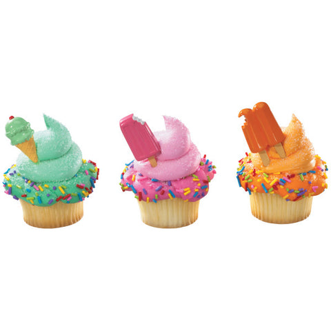 A Birthday Place - Cake Toppers - Cool Treat Assortment DecoPics®