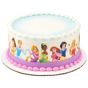 Disney Princesses Edible Cake Topper Image Strips