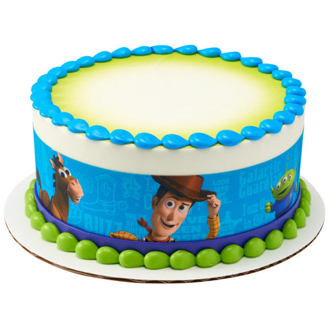 Disney/Pixar Toy Story Friends Edible Cake Topper Image Strips