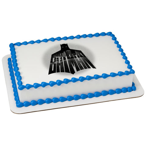 Batman-Night Watch Edible Cake Topper Image
