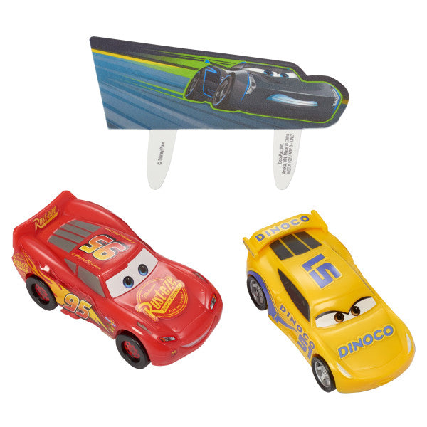 A Birthday Place - Cake Toppers - Cars 3 Ahead of the Curve DecoSet®