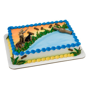 A Birthday Place - Cake Toppers - Duck Hunting DecoSet®
