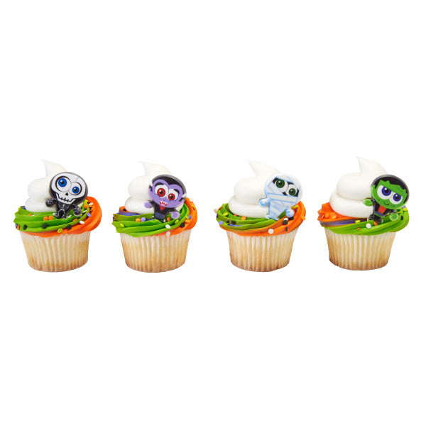 A Birthday Place - Cake Toppers - Classic Monster Cupcake Rings