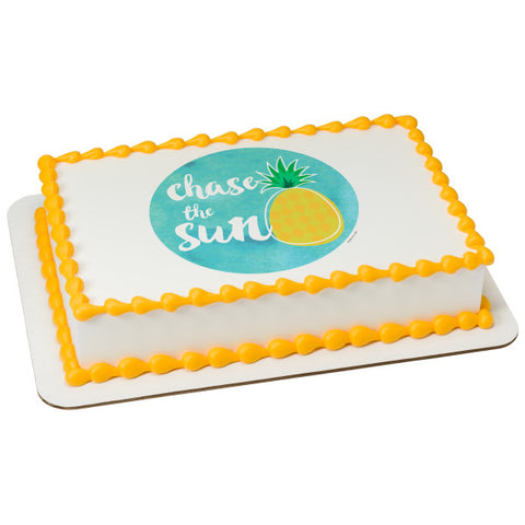 A Birthday Place - Cake Toppers - Chase The Sun Edible Cake Topper Image