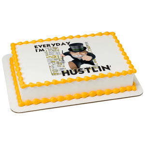 Hasbro Monopoly Everyday I'm Hustlin' Edible Cake Topper Image Frame