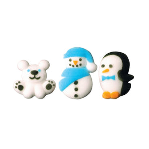 Winter Buddies Assortment Dec-Ons® Decorations