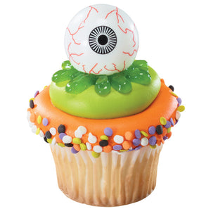 A Birthday Place - Cake Toppers - Eyeball & Witch Finger DecoPics®