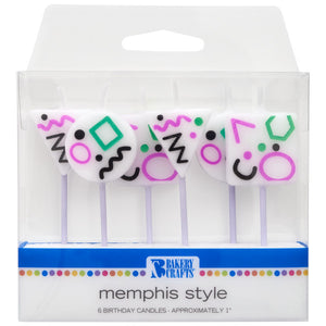 Memphis Style Shaped Candles