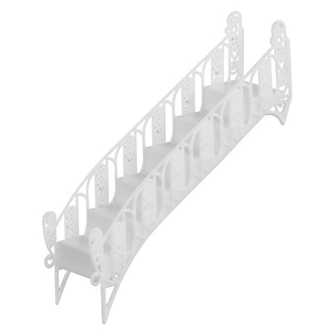 White Stair Bridge Wedding Ornament