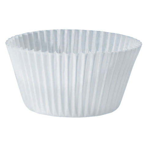 White Jumbo Baking Cups
