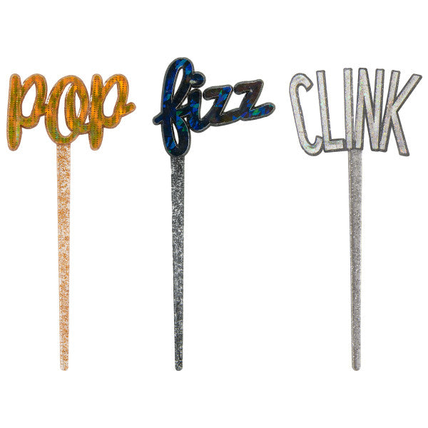 Pop, Fizz, Clink DecoPics®