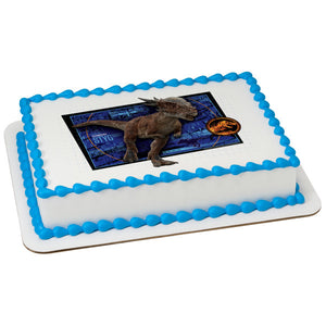 Jurassic World 2-Stygie Edible Cake Topper Image