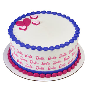 Barbie-Logo PhotoCake® Image Strips