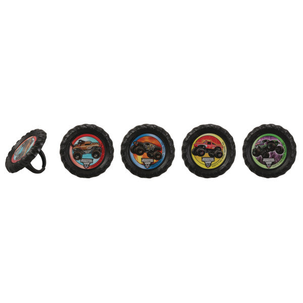 Monster Jam® Car Crushing Cupcake Rings
