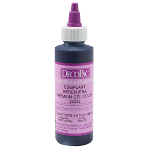 DecoPac Eggplant Premium Trend Gel Color