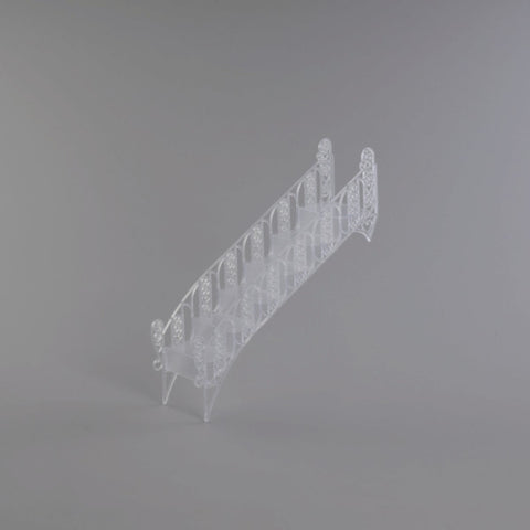 A Birthday Place - Cake Toppers - Frosted Crystal Stair Bridge Wedding Ornament