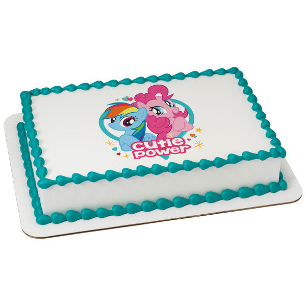 My Little Pony™ Cutie Power Edible Cake Topper Image