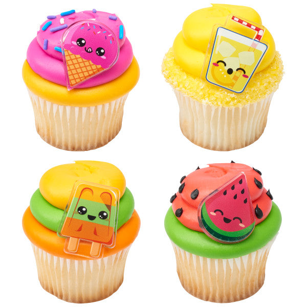 Cool Summer Treats Cupcake Rings