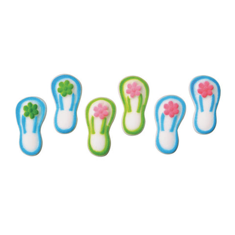 Flip Flops Assortment Dec-Ons® Decorations