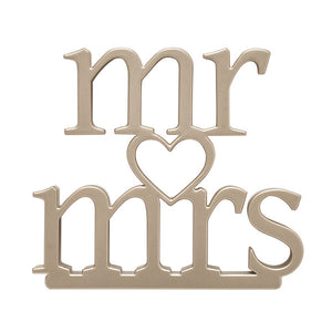 A Birthday Place - Cake Toppers - Mr. and Mrs. Wedding Ornament