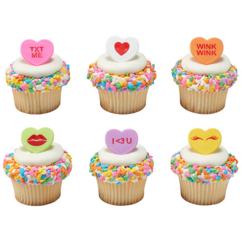 Sweet on you Cupcake Rings