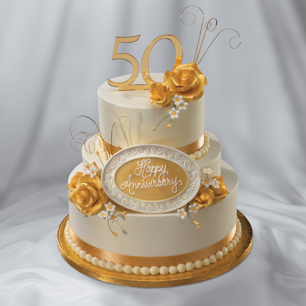 50th Anniversary Wedding Ornament – A Birthday Place