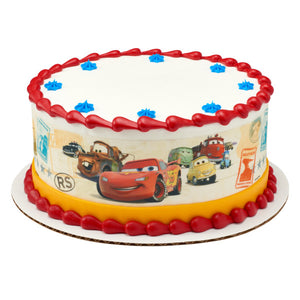 Cars-Make Your Mark Edible Cake Topper Image Strips