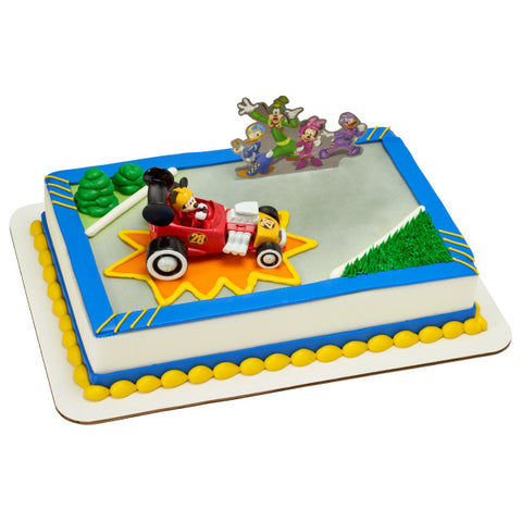 A Birthday Place - Cake Toppers - Mickey and the Roadster Racers DecoSet®