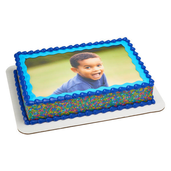 A Birthday Place - Cake Toppers - Sprinkle Edible Cake Topper Image