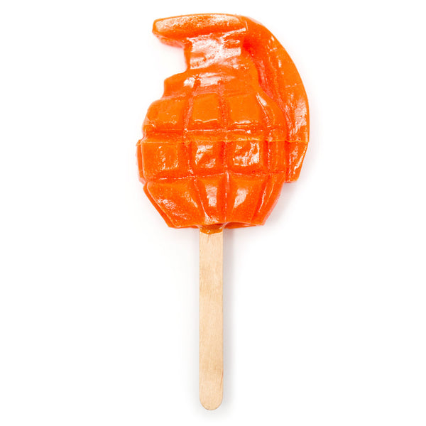 Limited Edition Grenade Popsicle by James Van Arsdale (4 color choices)