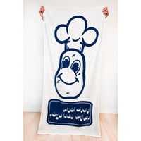 Limited Edition Barry McGee Towel - White & Blue Version