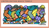 DJ Javier x MCASB Limited Edition Beach Towel