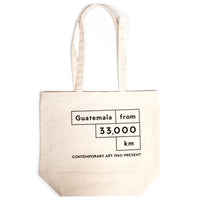 MCASB Guatemala from 33,000km: Contemporary Art, 1960 - Present Tote Bag
