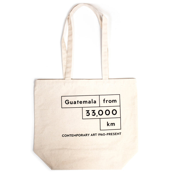 MCASB Guatemala from 33,000km: Contemporary Art, 1960 - Present Tote