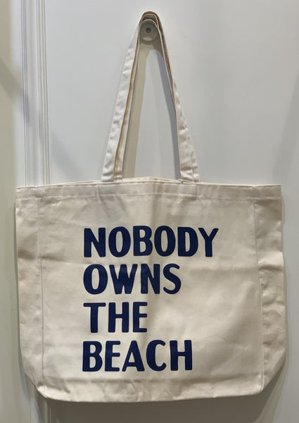 David Horvitz: Nobody Owns The Beach Tote Bag