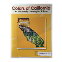 Colors of California - Coloring Book